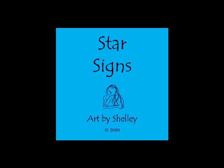 Star Signs: Art by Shelley M. House
