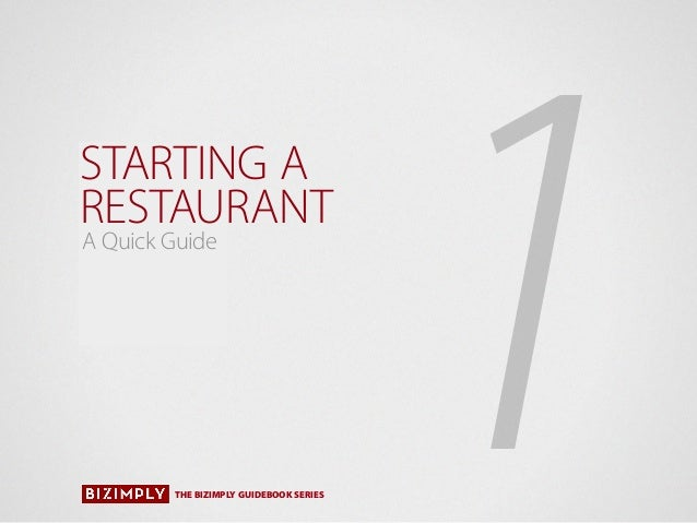 Take out restaurant business plan