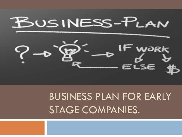 how to start up a business plan
