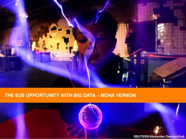 THE B2B OPPORTUNITY WITH BIG DATA – MONA VERNON