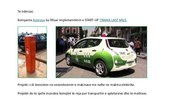 Start up Tirana Last Mile Slide 2