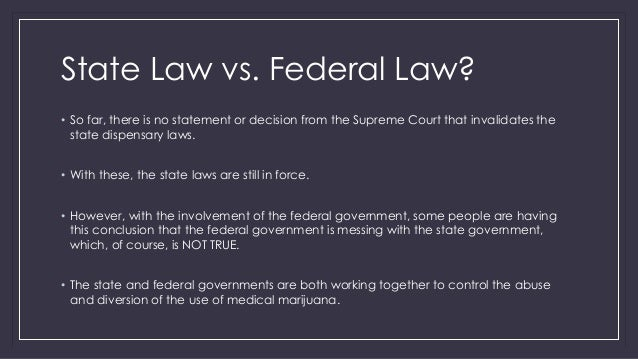 differences of federal and state regulation essay In cases where state rules and regulations for courses do exist since government regulation is handled through a sometimes confusing web of federal, state.