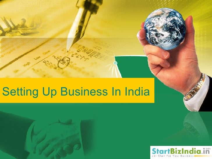 Setting Up Business In India