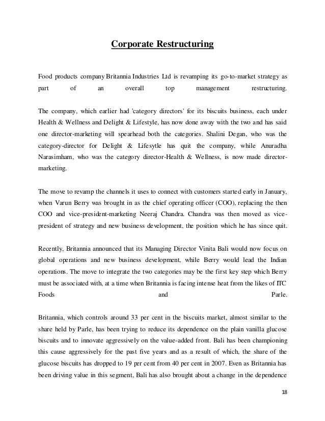 marketing management of britannia biscuits co ltd marketing essay Marketing mix of britannia industries analyses the brand/company which covers 4ps (product, price, place, promotion) britannia marketing mix explains the business & marketing strategies of the brand.
