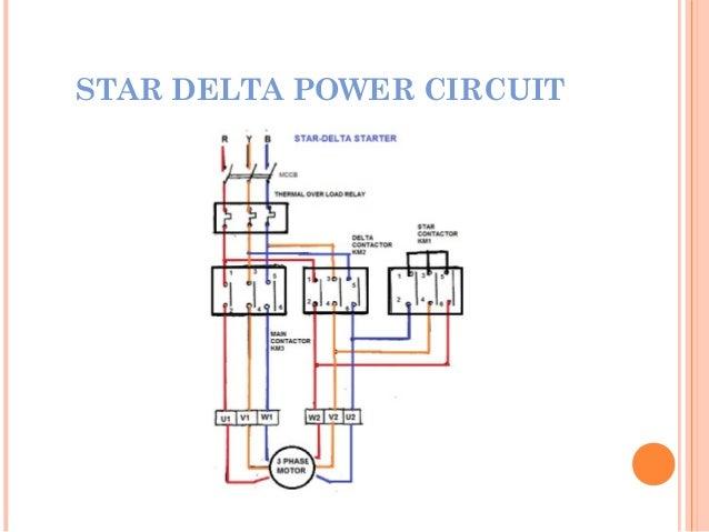 phase induction motor on star delta motor starter wiring diagramthree phase induction machine starterstar delta control circuit; 14 motor starting characteristics