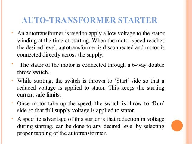 Three phase induction machine starter for Automatic 3 phase induction motor starter