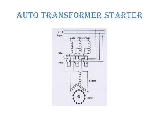 Auto Transformer Starter Circuit Diagram - Facbooik.com