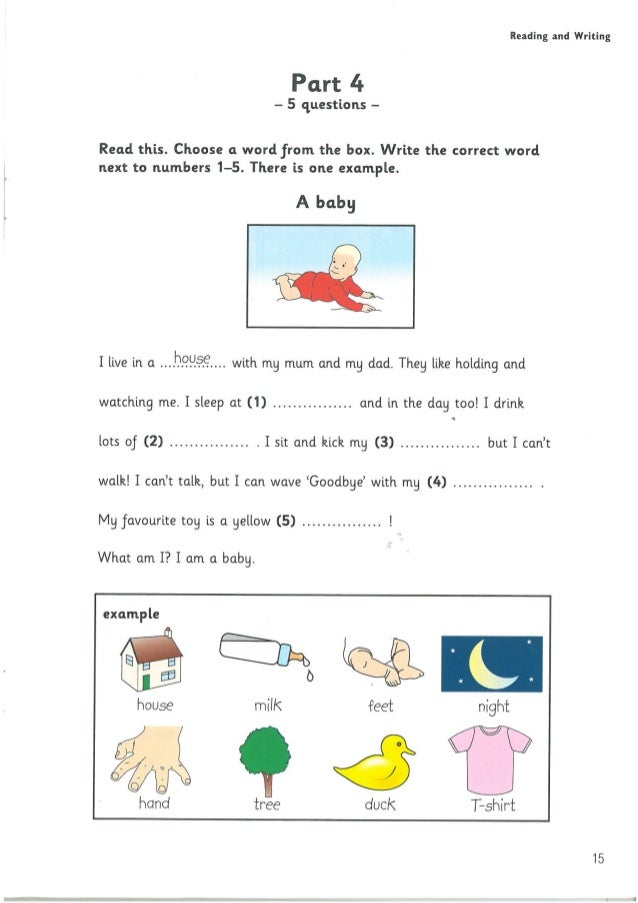 reading and writing part 1 Ket for schools handbook for teachers | paper 1: reading and writingsample paper reading and writing part 1 (questions 1–5) and part 2 (questions 6–10.