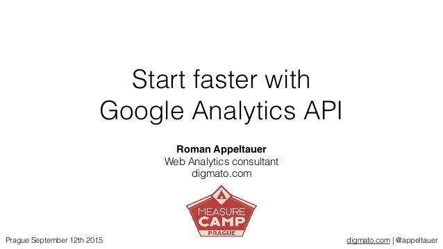 digmato.com | @appeltauer Start faster with