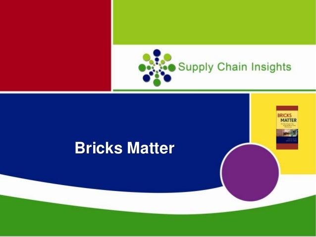 Bricks Matter Webinar Sponsored by Kinaxis
