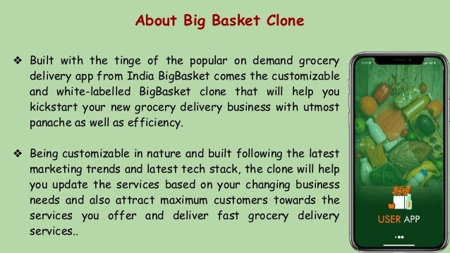 About Big Basket Clone ❖ Built with the tinge of the popular on demand grocery delivery app from India BigBasket comes the...