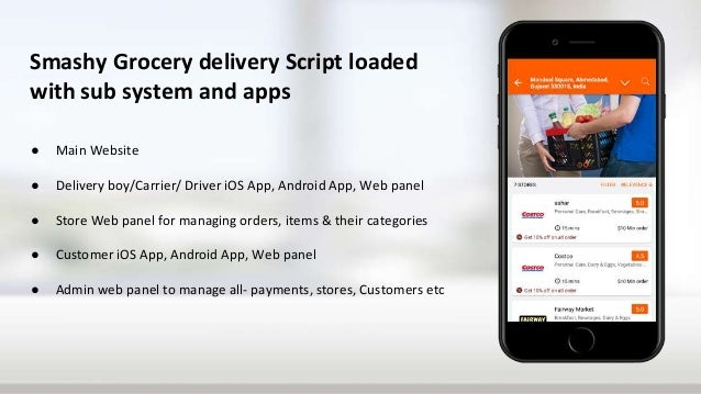 Start grocery delivery business with grofers app clone