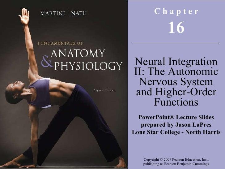 Copyright © 2009 Pearson Education, Inc., publishing as Pearson Benjamin Cummings C h a p t e r 16 Neural Integration II: ...