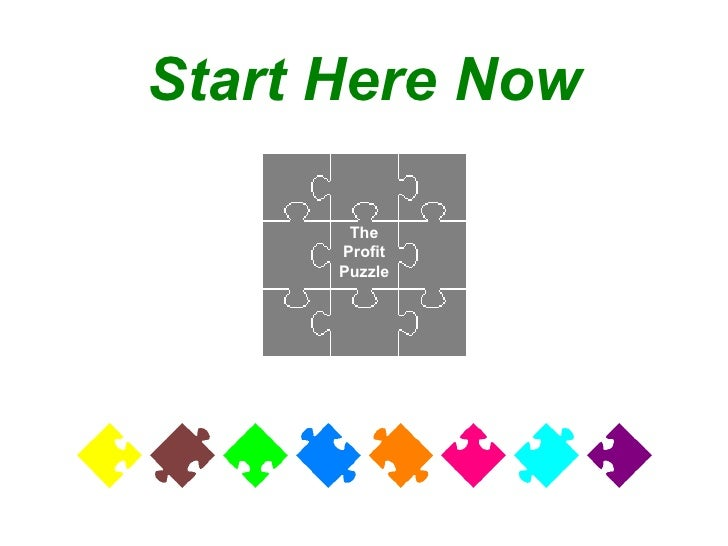 The Profit Puzzle Start Here Now