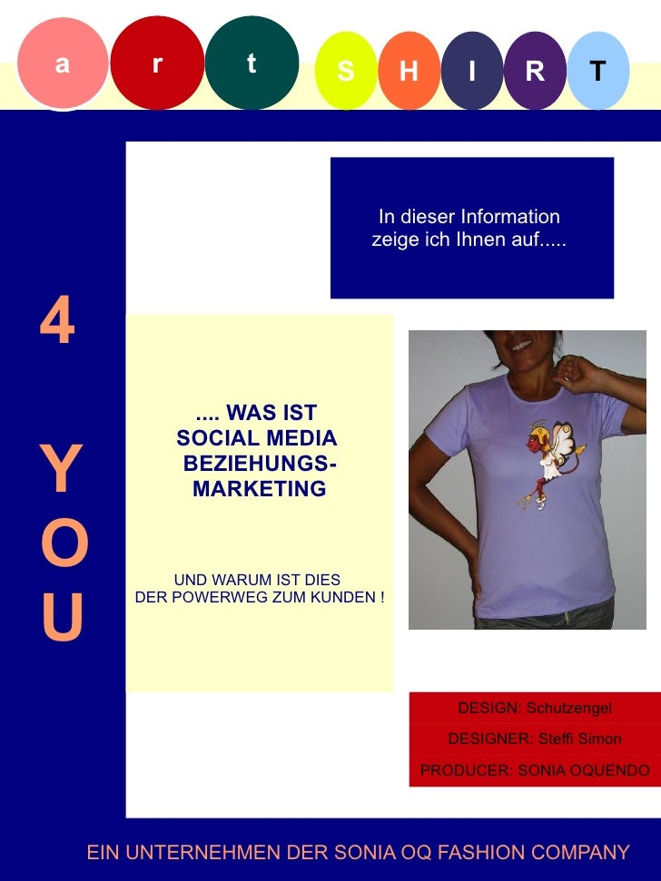 Startinformation artshirt4you Slide 3