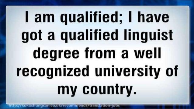 Starting Career As a Professional Translator: online translation jobs Slide 3