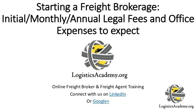how to start a freight brokerage