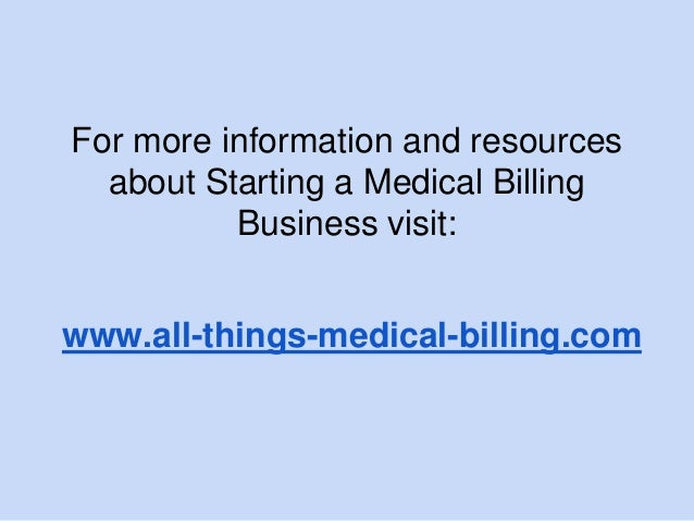 how to start a medical billing Practiceadmin's cloud-based medical billing and practice management (saas) solutions provide billing companies and medical practices with a powerful platform to manage patient data and claims it integrates with leading emr and ehr systems and is an efficient and cost effective system for scheduling patients and performing complex medical.