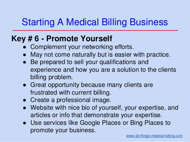 how to start medical billing from home