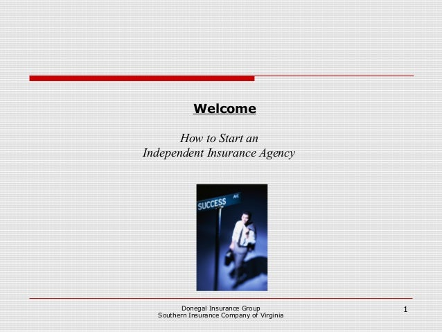 how to start your own insurance agency