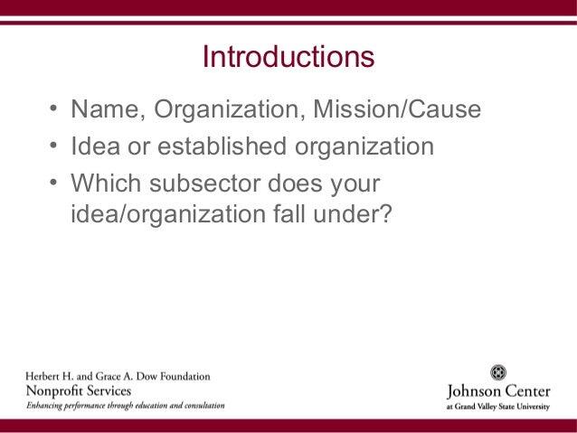 Starting a nonprofit organization rev 8_31_12
