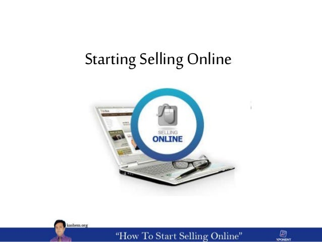 Starting Selling Online