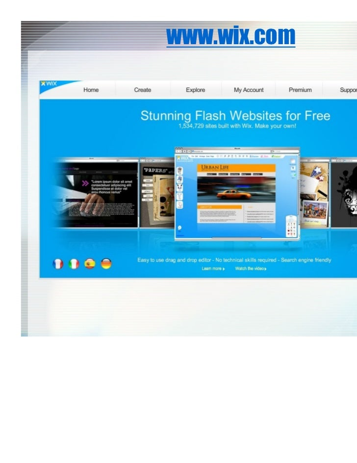 create my own website free of cost