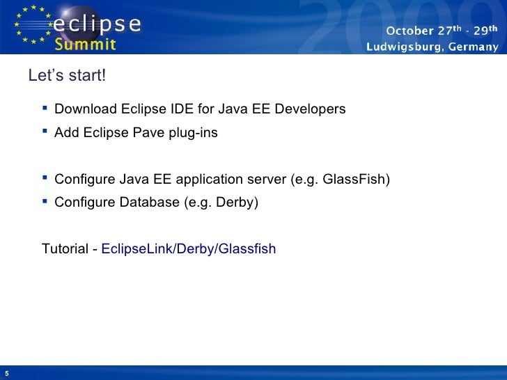 Starting with Java EE was never easier