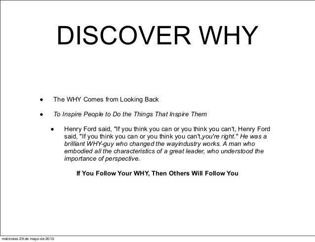 Starting With Why Simon Sinek