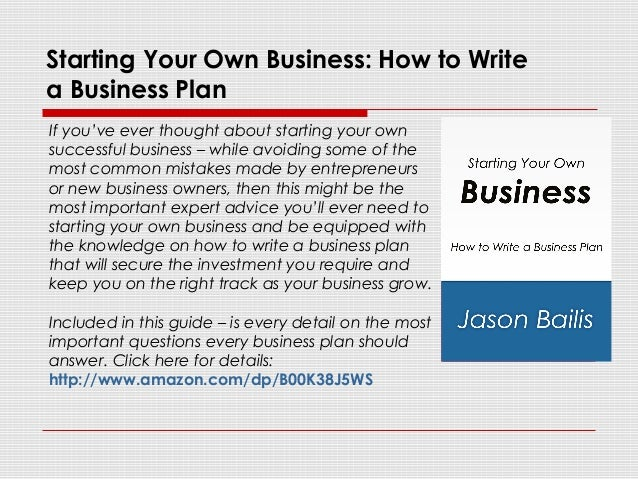 How To Wright Business Plan Write For Small Steps