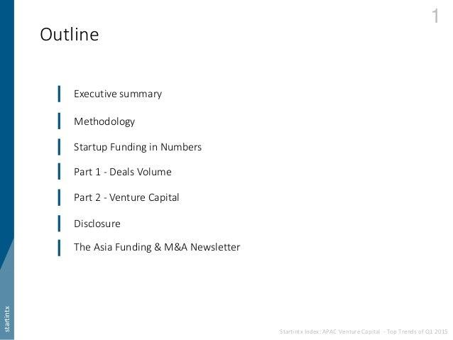 Startintx Index: APAC Venture Capital - Top Trends of Q1 2015 Slide 2
