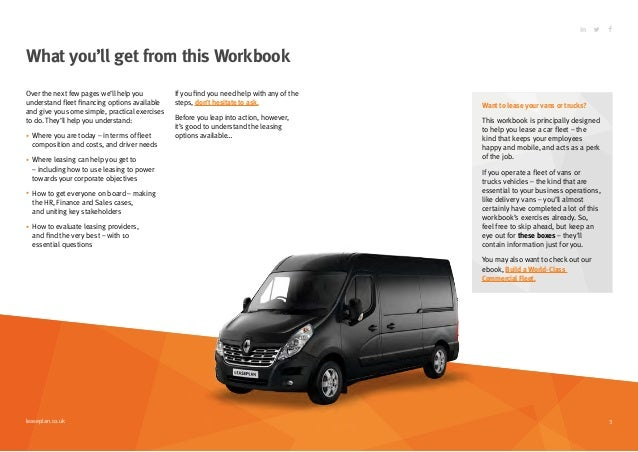 Start Leasing Vehicles For Your Business