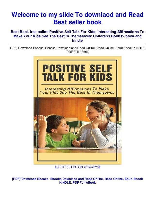 For positive kids talk self Using Positive