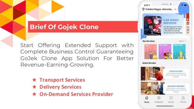 Start Multi Service Business like Gojek in Cambodia Slide 2