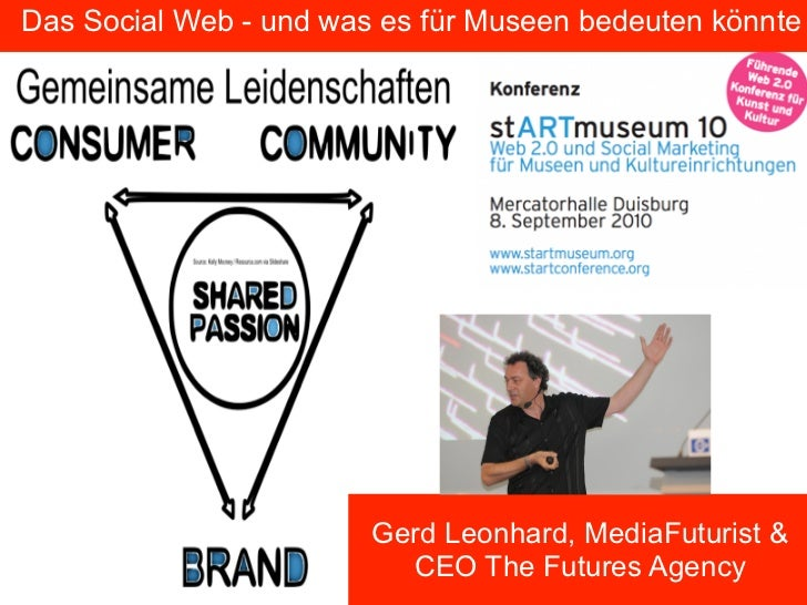 StartMuseum 2010: Das social Web und Museen (in German language)