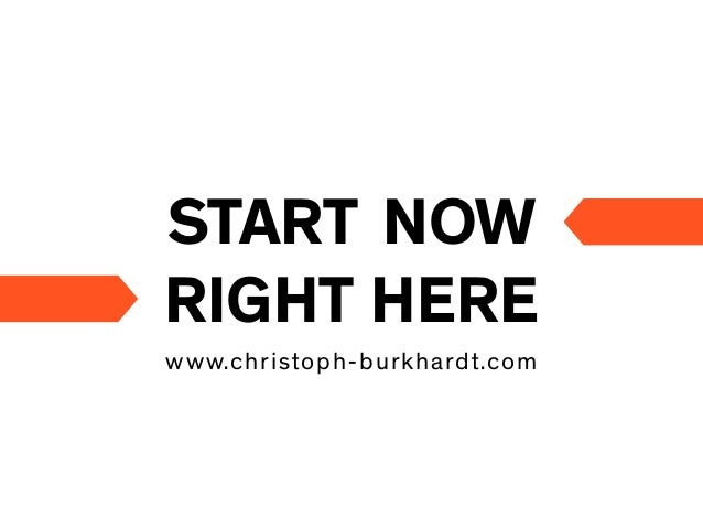 START NOWRIGHT HEREwww.christoph-burkhardt.com