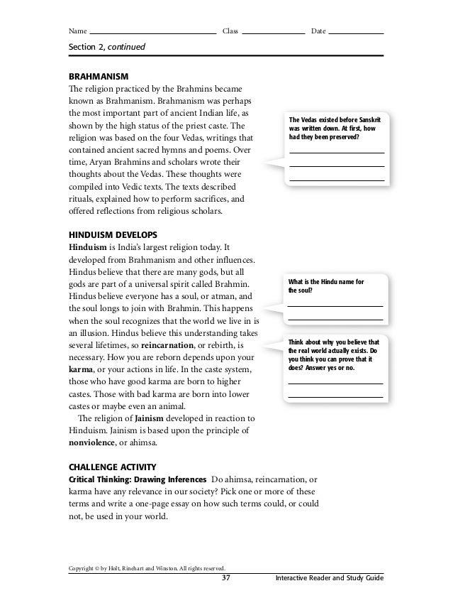 holt social studies workbook rh slideshare net guided reading and study workbook chapter 12 answers guided reading and study workbook chapter 12 answers
