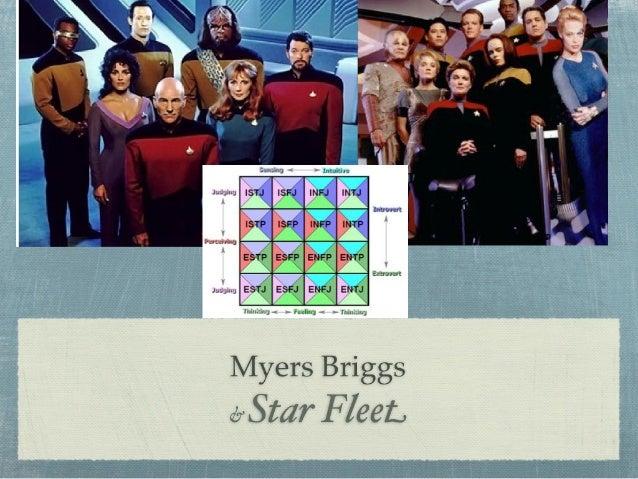 Star Trek and Myers Briggs