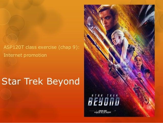 Star Trek Beyond ASP120T class exercise (chap 9): Internet promotion