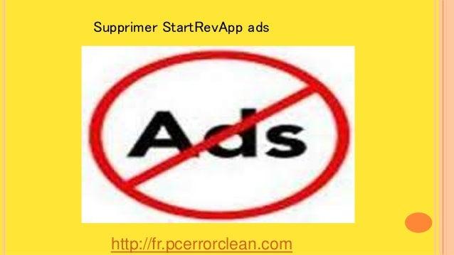 http://fr.pcerrorclean.com Supprimer StartRevApp ads