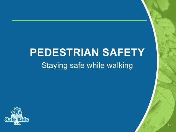 Start safe travel presentation lower anchor 13 14 pedestrian safety publicscrutiny Choice Image