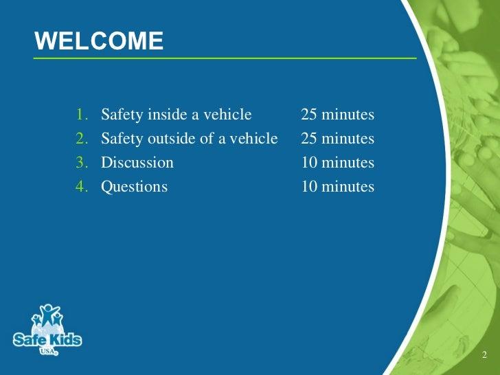 Start safe travel presentation safe kids usa start safe a safe travel program for families of preschoolers 2 publicscrutiny Choice Image