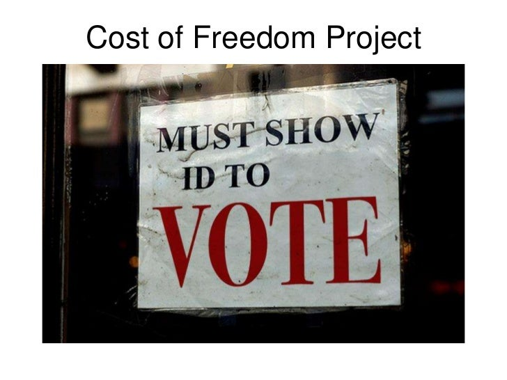 Cost of Freedom Project