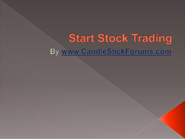 How does one start stock trading? Stock traders must know the same fundamentals of the stock market and stock investing as...