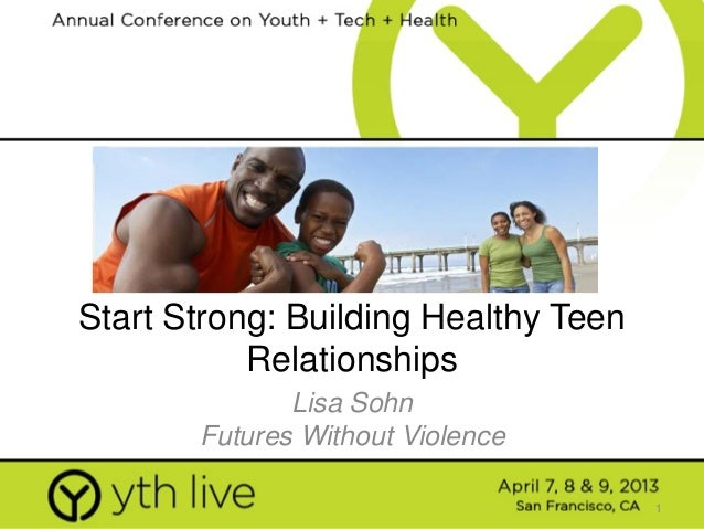 Strong Building Healthy Teen Relationships 113