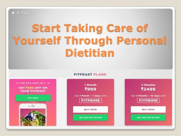 fitpass your personal dietitian