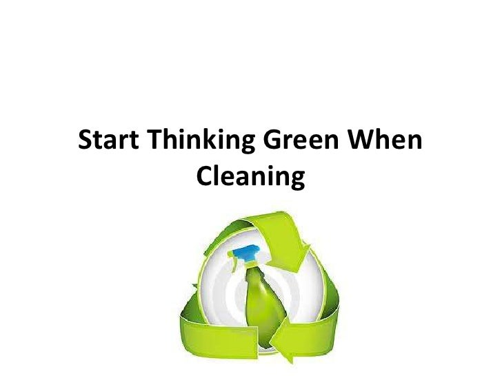 how to start a green home cleaning business