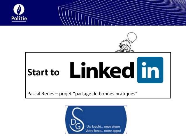 """Start toPascal Renes – projet """"partage de bonnes pratiques"""""""