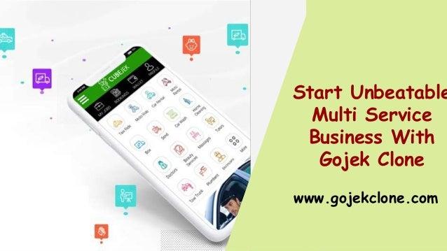 Start Unbeatable Multi Service Business With Gojek Clone www.gojekclone.com