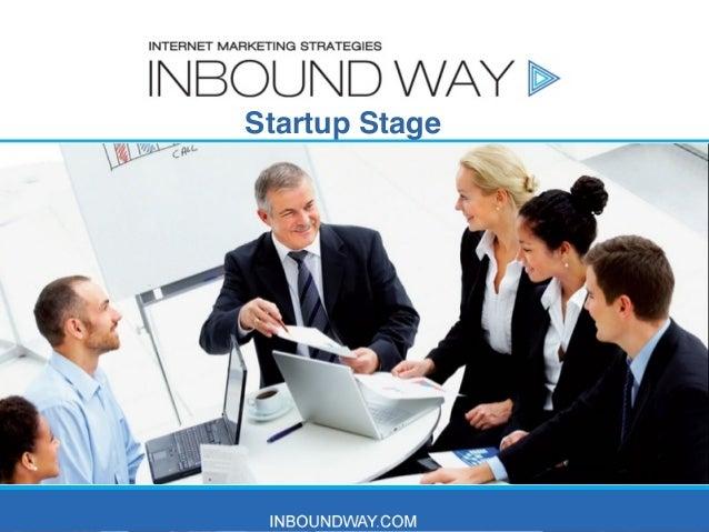 Startup Stage  Tom Gorski Internet Marketing Expert & Affiliate Marketing Consultant  1